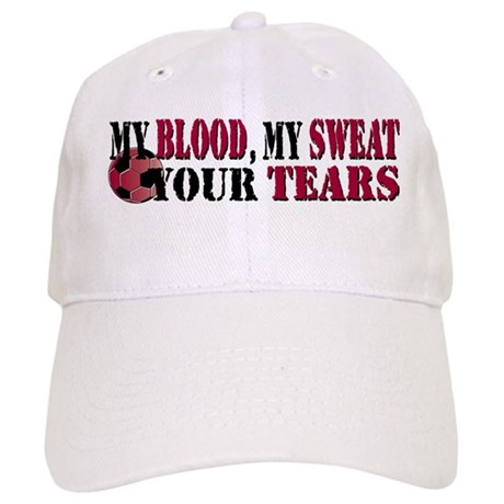Blood Sweat Soccer Cap