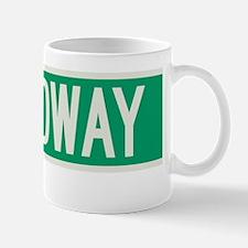 Broadway in NY Mug