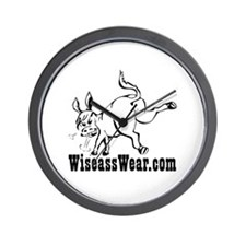 Wiseass Wall Clock