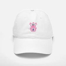 Blue Awareness Ribbon Goofkins Piggy Pig Baseball Baseball Cap