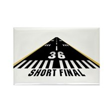 Aviation Short Final Rectangle Magnet