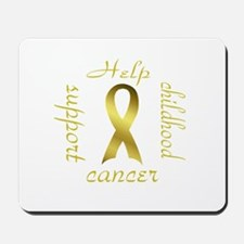 Support Childhood Cancer Mousepad