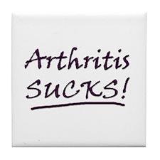 Arthritis Sucks! Tile Coaster