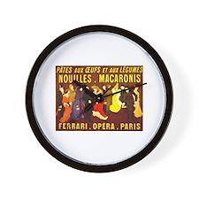 Ferrari Opera Paris Wall Clock