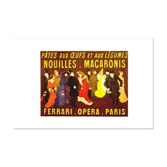 Ferrari Opera Paris Posters