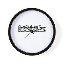 """""""Best. Urologist. Ever."""" Wall Clock"""