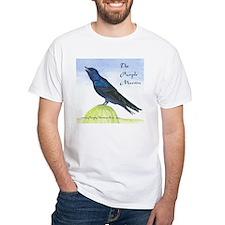 Purple Martin bird mens Shirt