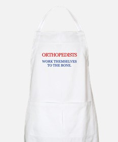 Orthopedists work themsolves BBQ Apron