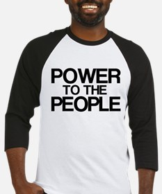 Power to the People Baseball Jersey