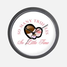 So Many Truffles Wall Clock