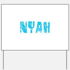 Nyah Faded (Blue) Yard Sign