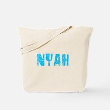 Nyah Faded (Blue) Tote Bag