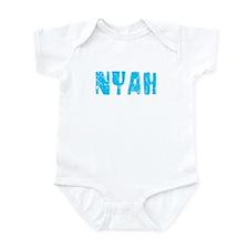 Nyah Faded (Blue) Infant Bodysuit