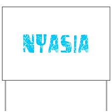 Nyasia Faded (Blue) Yard Sign