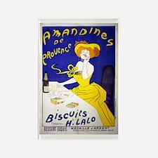 Amandines de Provence Biscuits Rectangle Magnet