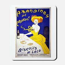 Amandines de Provence Biscuits Mousepad