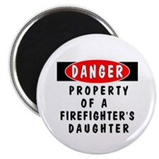 Firefighters Daughter Magnet