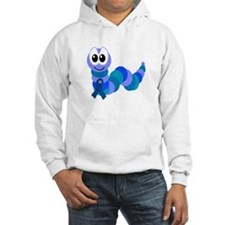 Blue Awareness Ribbon Goofkins Caterpillar Jumper Hoody