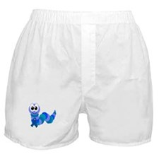 Blue Awareness Ribbon Goofkins Caterpillar Boxer S
