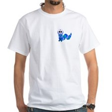 Blue Awareness Ribbon Goofkins Caterpillar Shirt