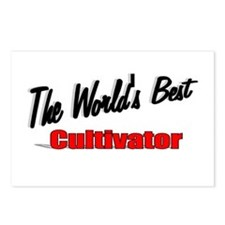 """""""The World's Best Cultivator"""" Postcards (Package o"""