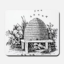 Masonic Beehive No. 2 Mousepad