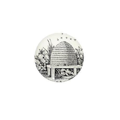 Masonic Beehive No. 2 Mini Button (10 pack)