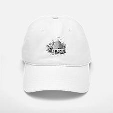 Masonic Beehive No. 2 Baseball Baseball Cap