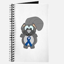 Blue Awareness Ribbon Goofkins Squirrel Journal
