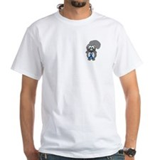 Blue Awareness Ribbon Goofkins Squirrel Shirt