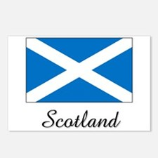 Scotland Flag Postcards (Package of 8)