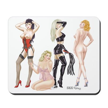 Bourdoir Ladies Mousepad