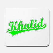Retro Khalid (Green) Mousepad