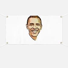 Barack Obama for President Banner