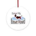 Basset Hound Keepsake (Round)
