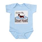 Basset Hound Infant Creeper