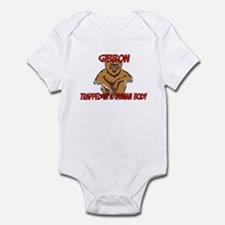 Gibbon trapped in a human body Infant Bodysuit