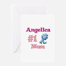 Angelica - #1 Mom Greeting Card