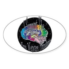 Free Wetware Foundation Oval Decal