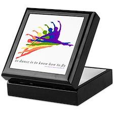 Rainbow Jete Keepsake Box