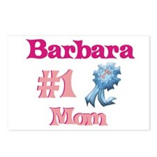 Barbara - #1 Mom Postcards (Package of 8)