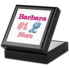 Barbara - #1 Mom Keepsake Box