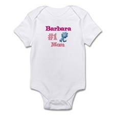 Barbara - #1 Mom Infant Bodysuit