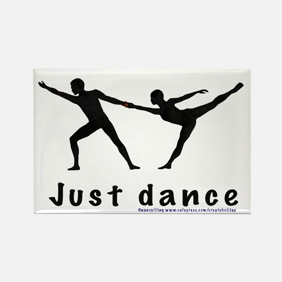 Just Dance Rectangle Magnet