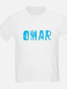Omar Faded (Blue) T-Shirt
