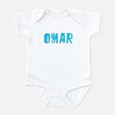 Omar Faded (Blue) Infant Bodysuit