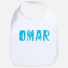 Omar Faded (Blue) Bib