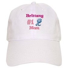 Brittany - #1 Mom Baseball Cap