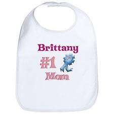 Brittany - #1 Mom Bib