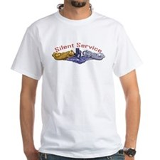 Silent Service Gold & Silver Dolphins Shirt